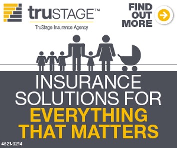 trustage Insurance company. Insurance solutions for everything that matters.